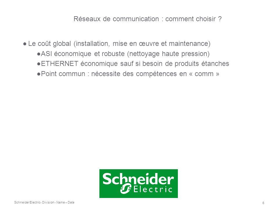 Réseaux de communication : comment choisir