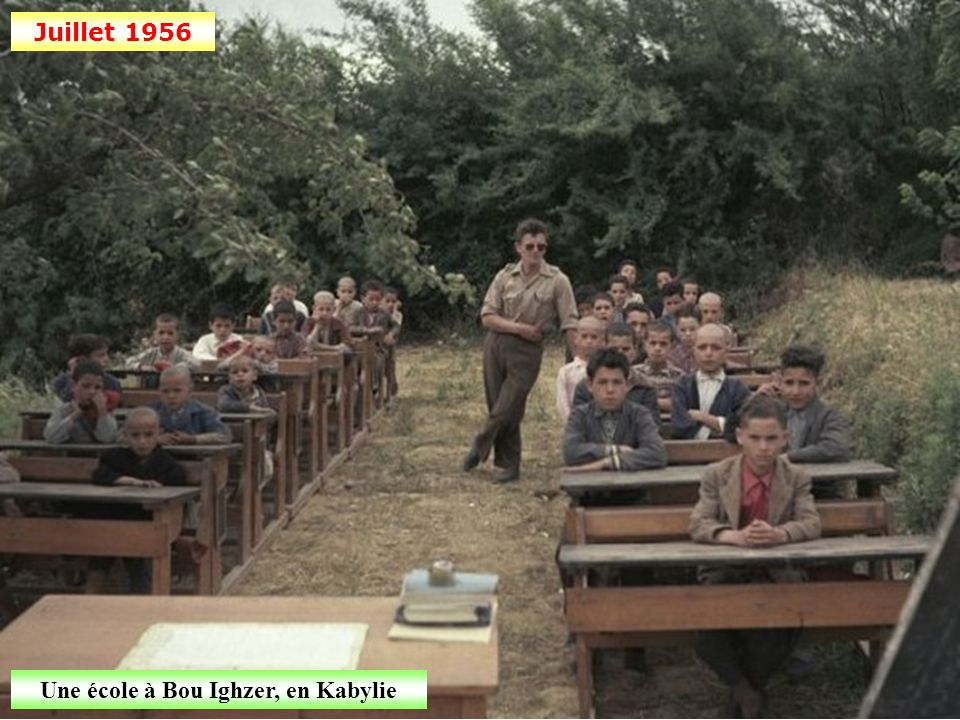 Une école à Bou Ighzer, en Kabylie