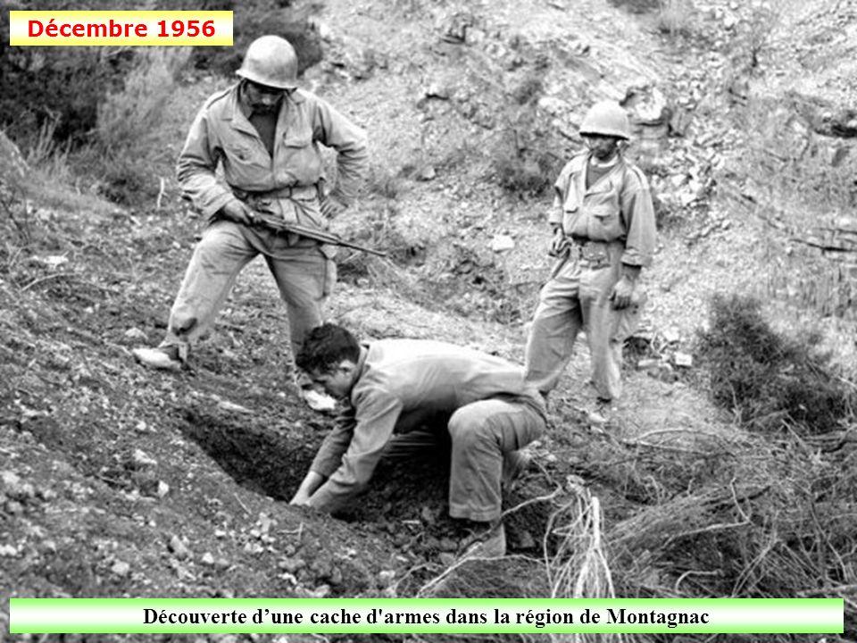 Découverte d'une cache d armes dans la région de Montagnac