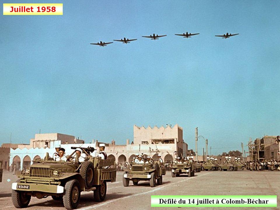 Défilé du 14 juillet à Colomb-Béchar