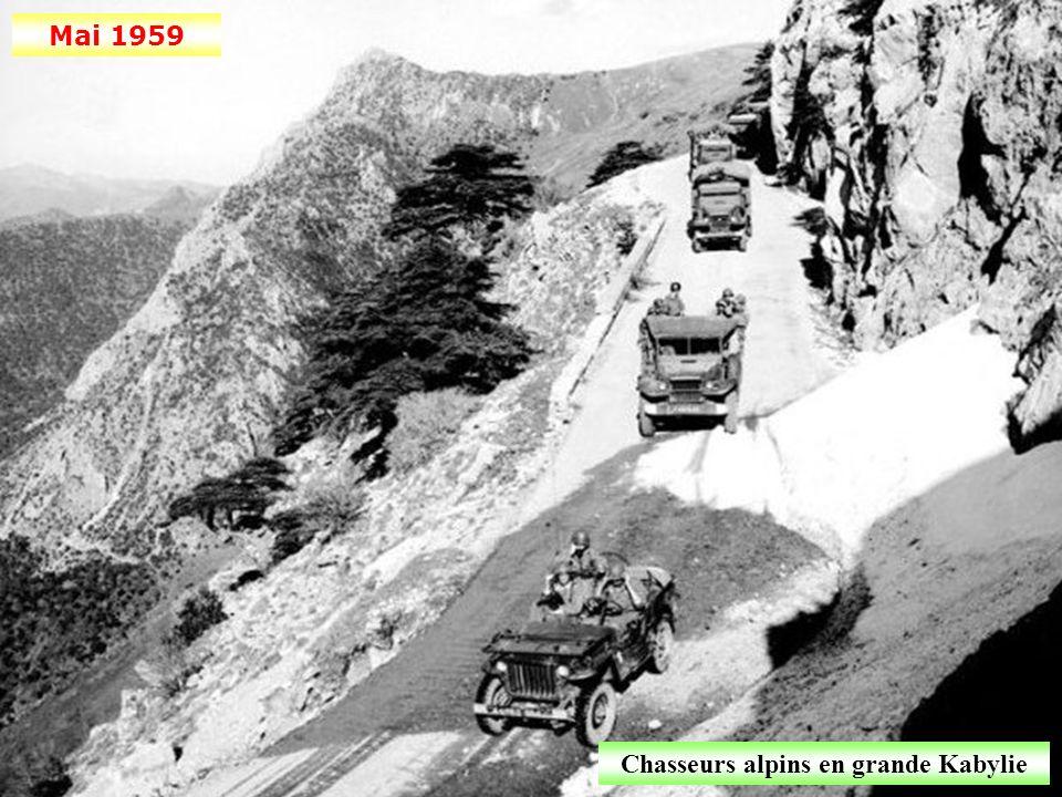 Chasseurs alpins en grande Kabylie