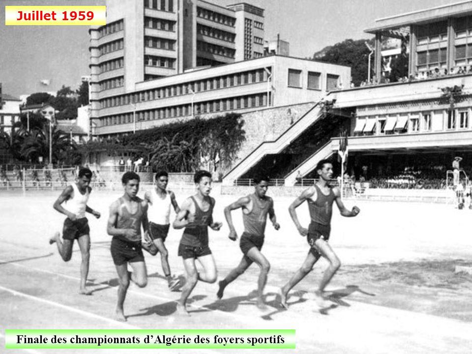 Finale des championnats d'Algérie des foyers sportifs