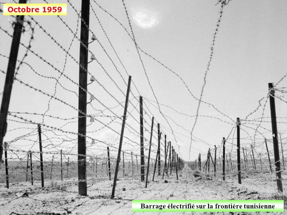 Barrage électrifié sur la frontière tunisienne