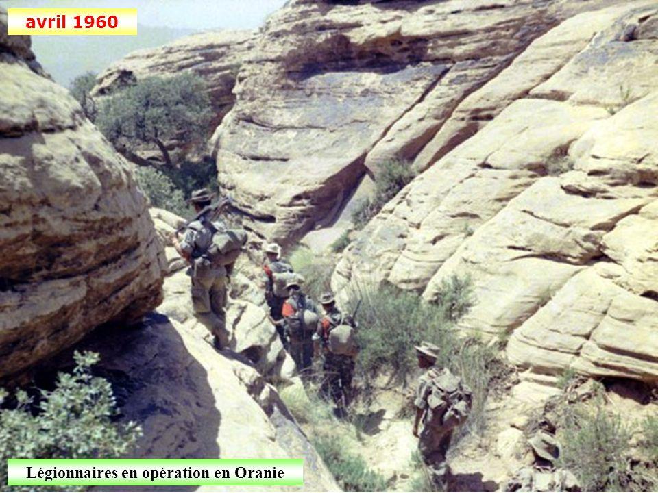 Légionnaires en opération en Oranie