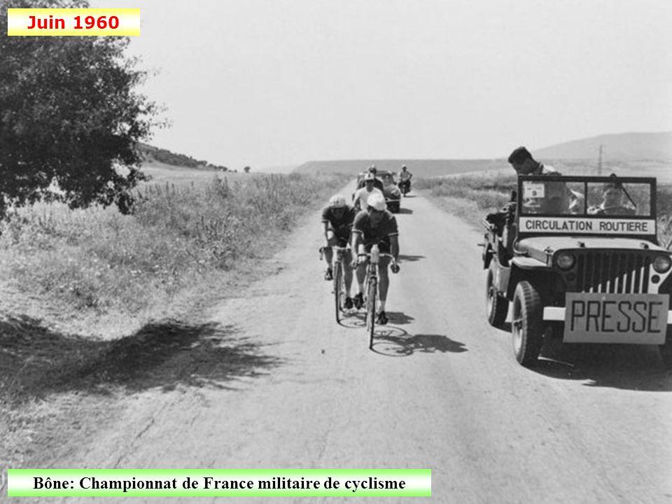 Bône: Championnat de France militaire de cyclisme