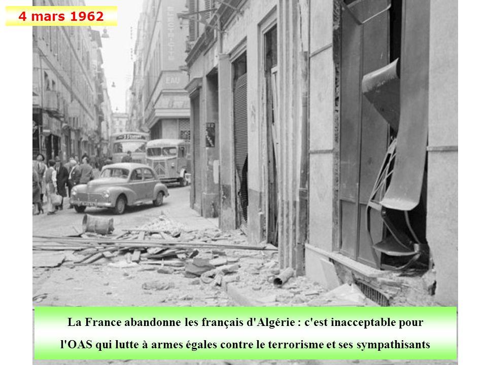 La France abandonne les français d Algérie : c est inacceptable pour