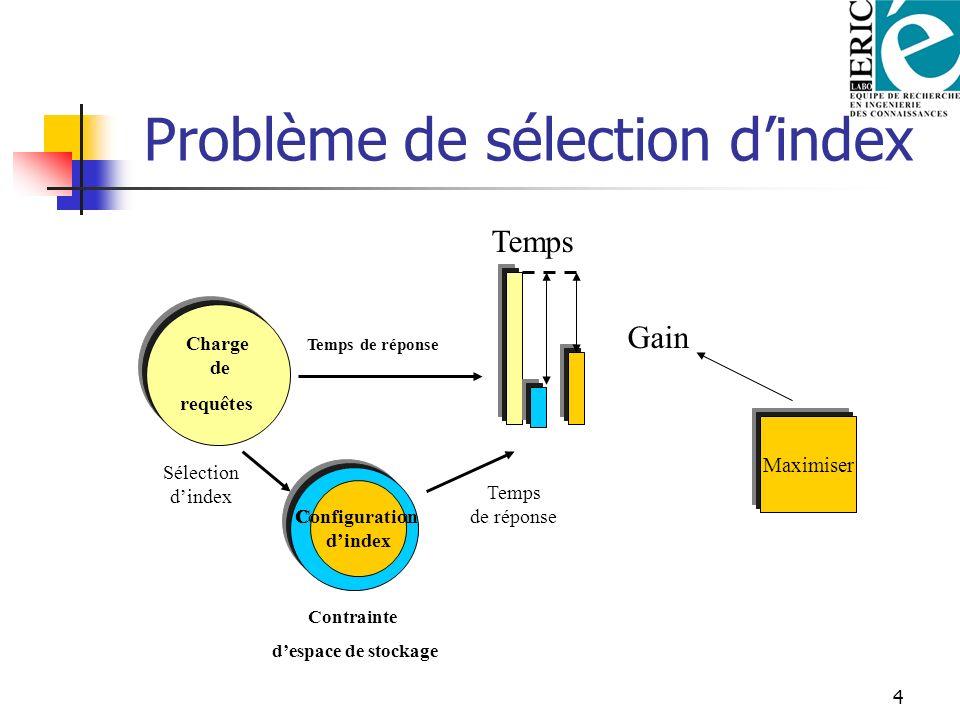 Problème de sélection d'index