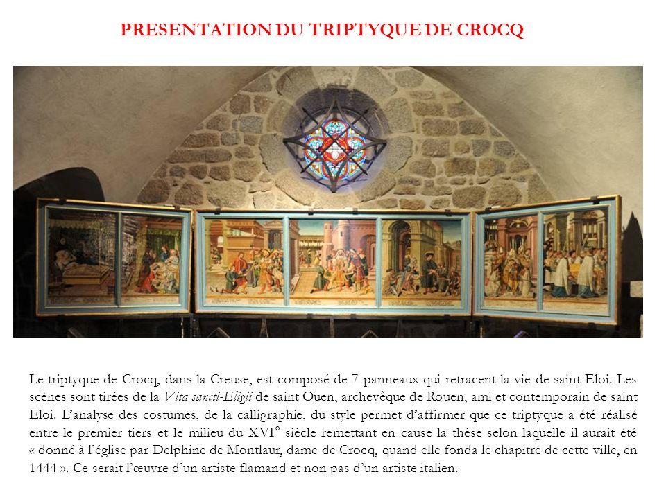 PRESENTATION DU TRIPTYQUE DE CROCQ