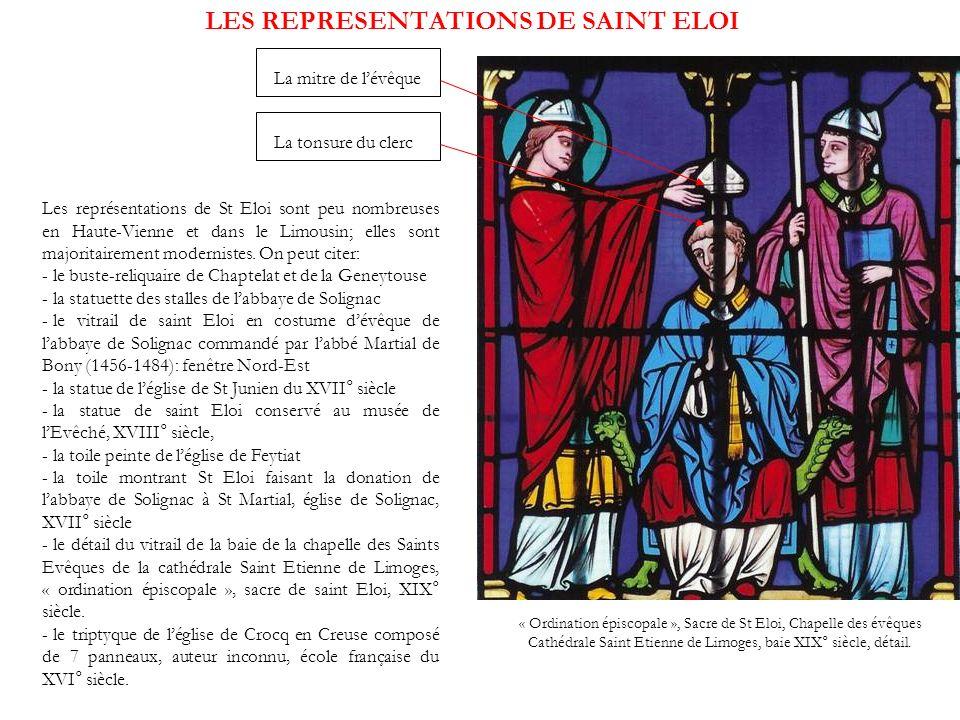 LES REPRESENTATIONS DE SAINT ELOI