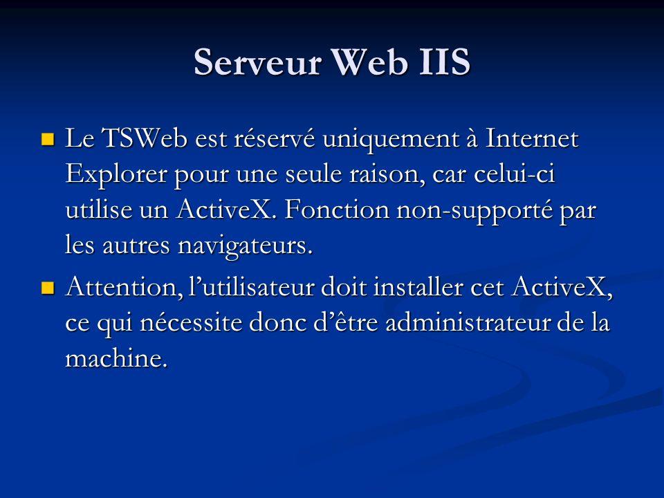 Serveur Web IIS