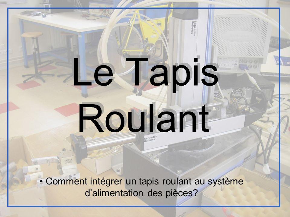 Le Tapis Roulant Comment intégrer un tapis roulant au système d'alimentation des pièces