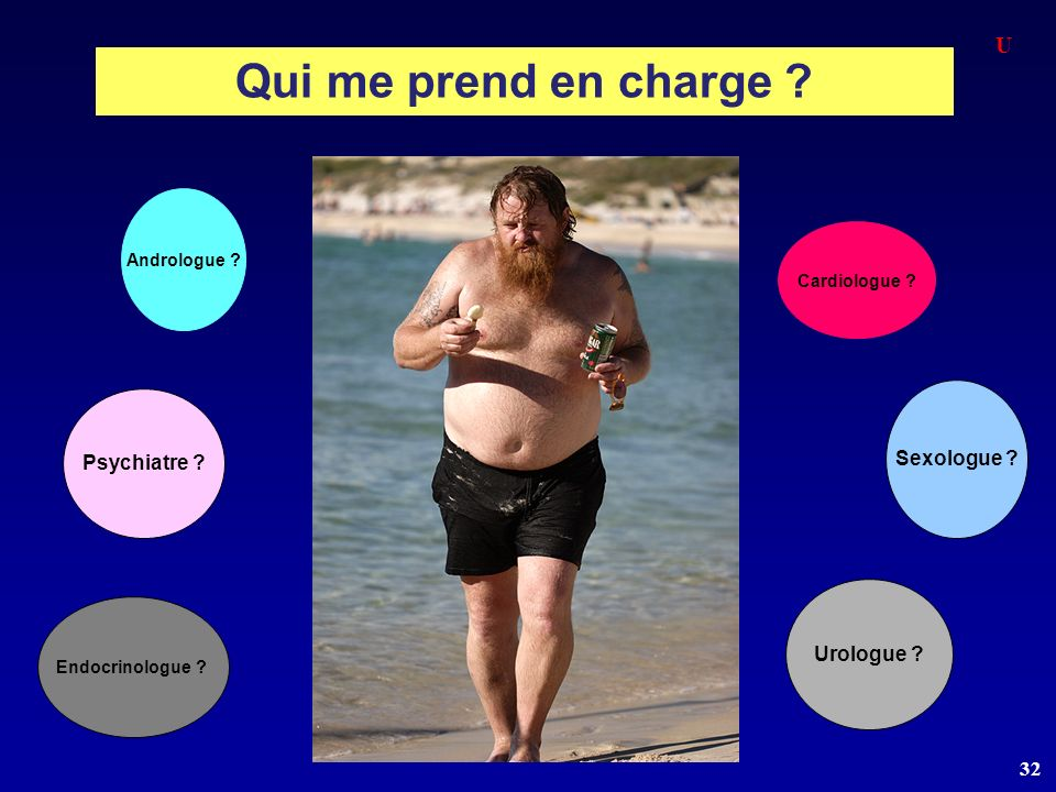 Qui me prend en charge U Sexologue Psychiatre Urologue