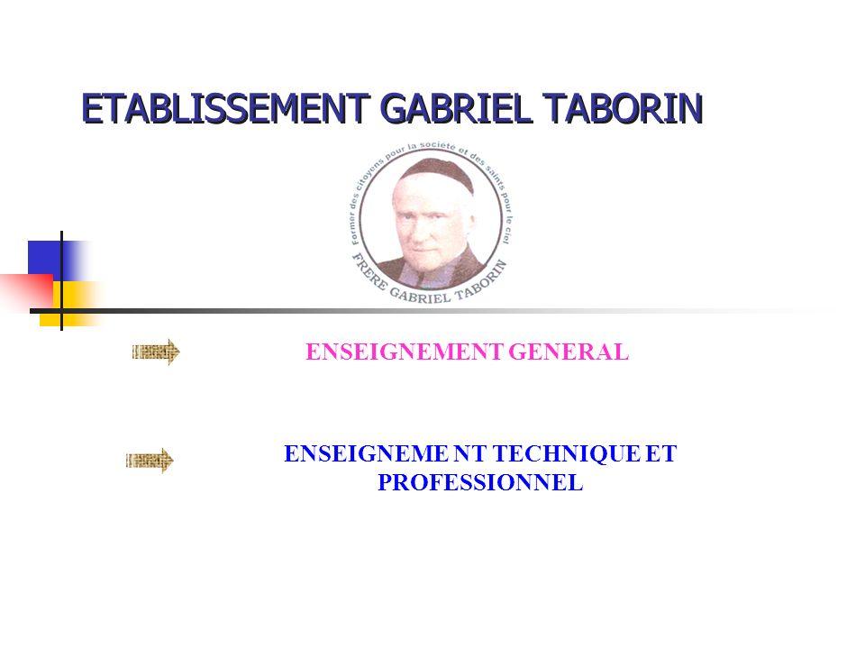 ETABLISSEMENT GABRIEL TABORIN