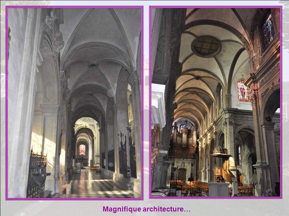 Magnifique architecture…