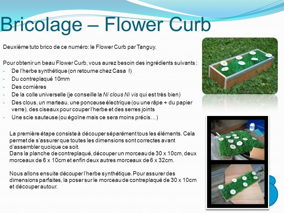 Bricolage – Flower Curb