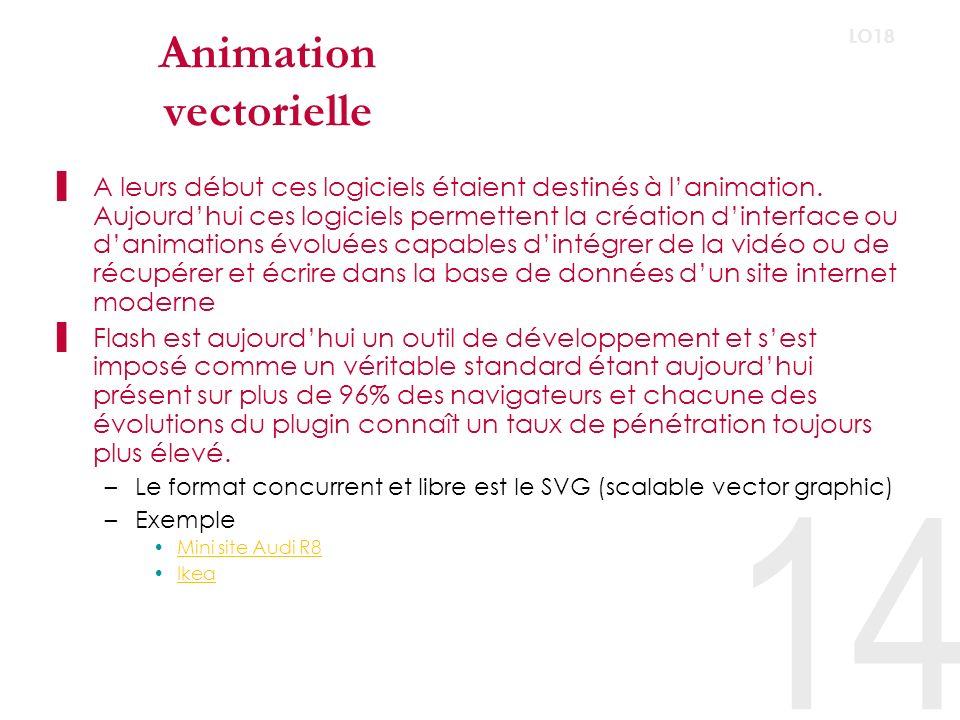 Animation vectorielle