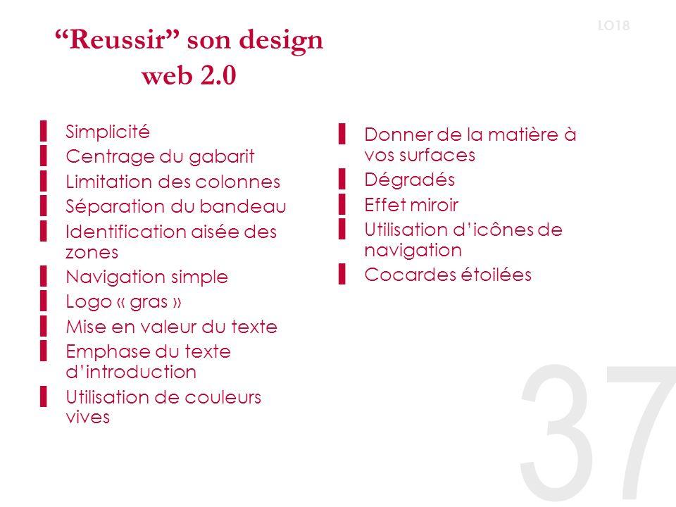 Reussir son design web 2.0