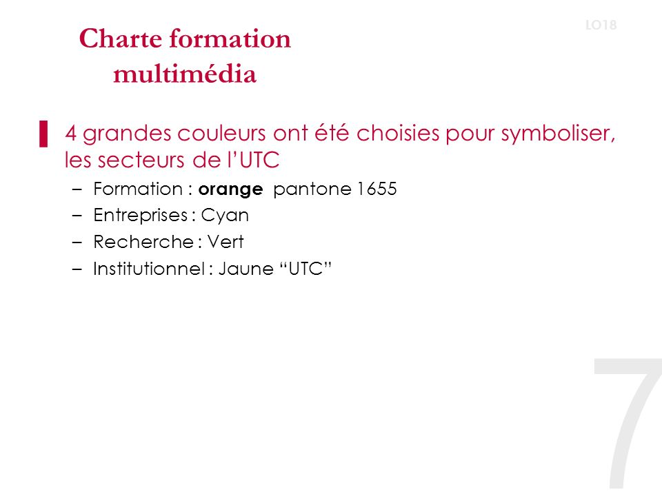 Charte formation multimédia