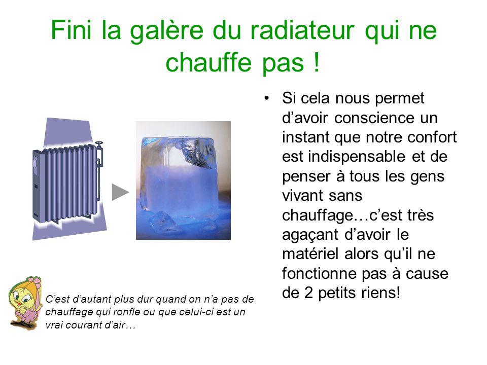 Fini la gal re du radiateur qui ne chauffe pas ppt - Radiateur chauffage central qui ne chauffe pas ...