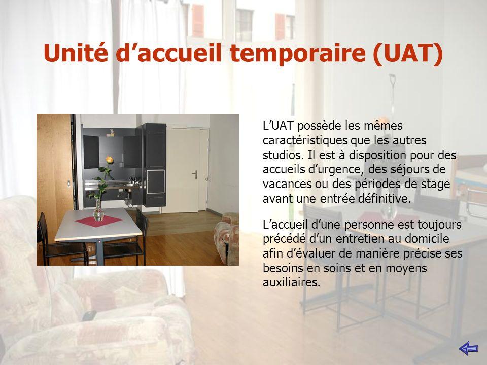 Unité d'accueil temporaire (UAT)