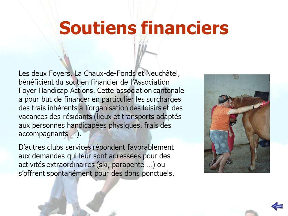 Soutiens financiers