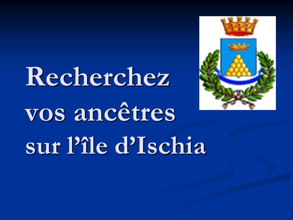 Recherchez vos ancêtres sur l'île d'Ischia