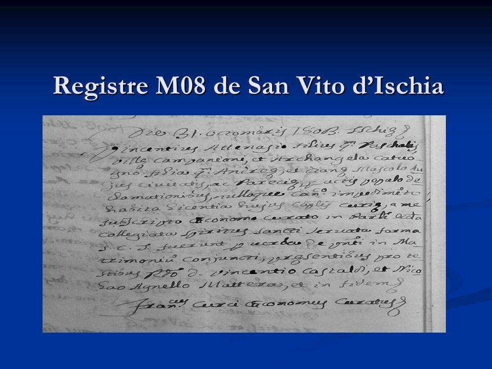 Registre M08 de San Vito d'Ischia