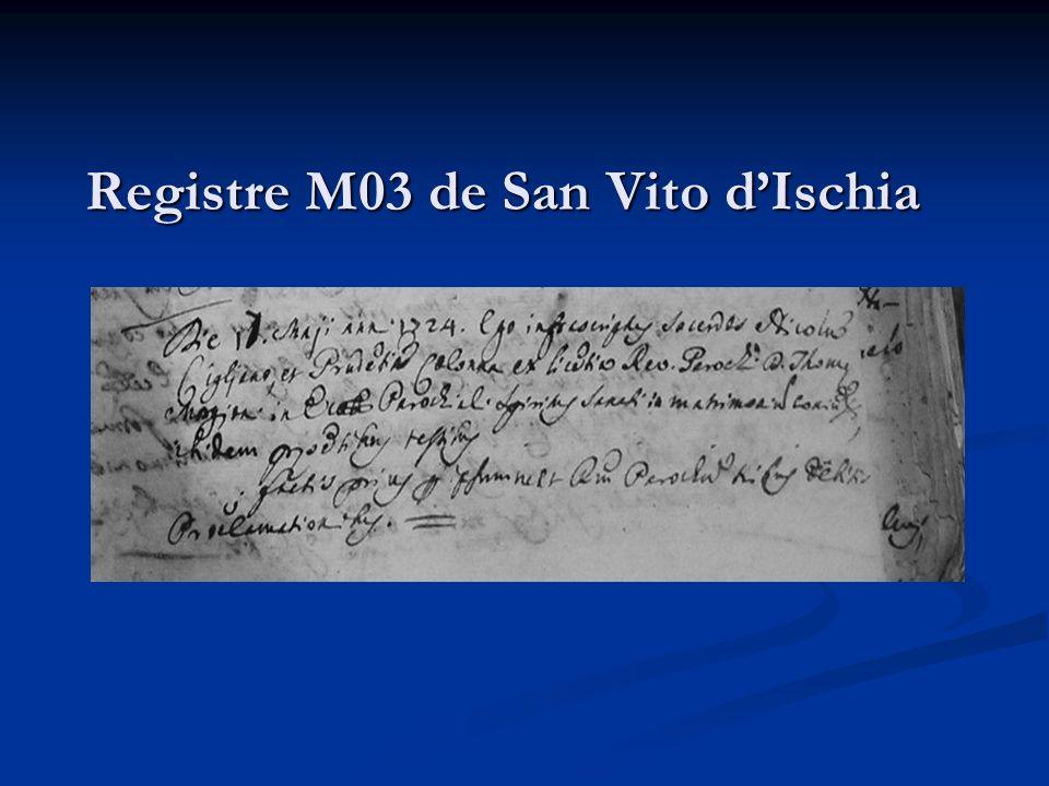 Registre M03 de San Vito d'Ischia
