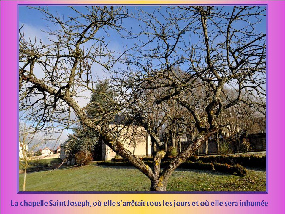 La chapelle Saint Joseph, où elle s'arrêtait tous les jours et où elle sera inhumée