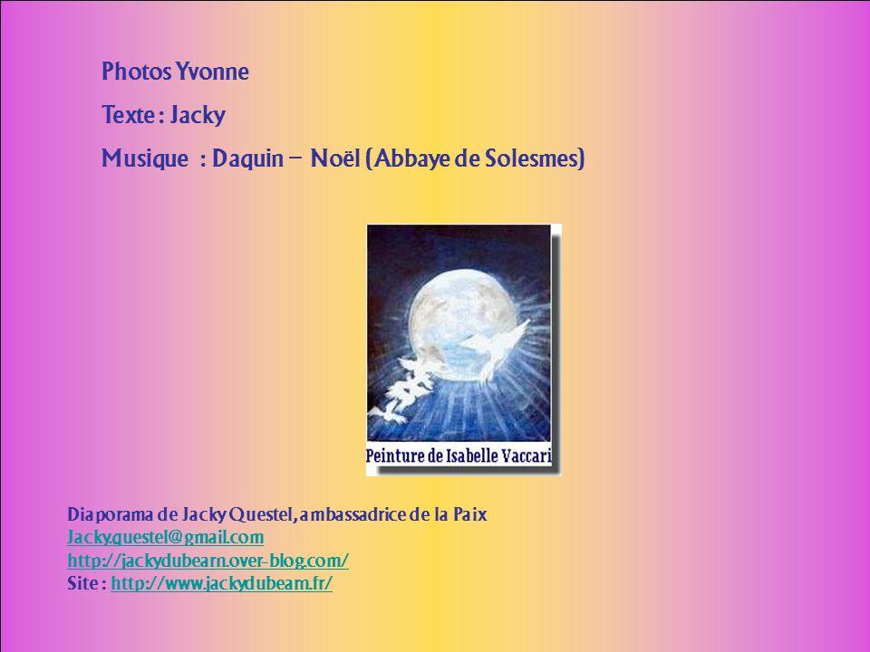 Musique : Daquin – Noël (Abbaye de Solesmes)
