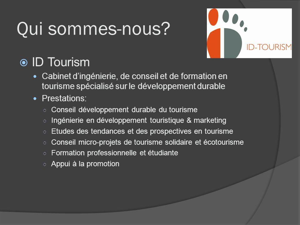 Qui sommes-nous ID Tourism