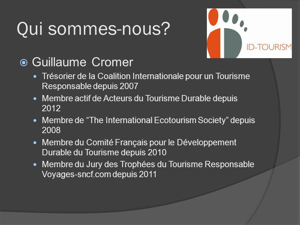 Qui sommes-nous Guillaume Cromer