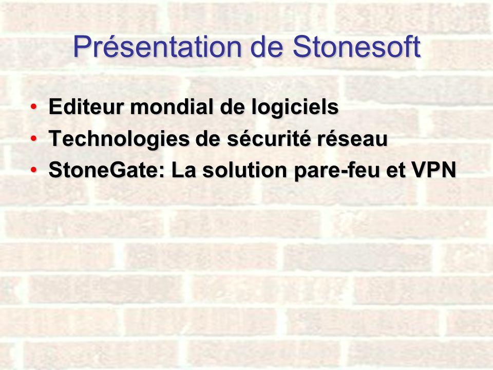 Présentation de Stonesoft