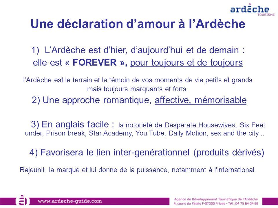 Une déclaration d'amour à l'Ardèche