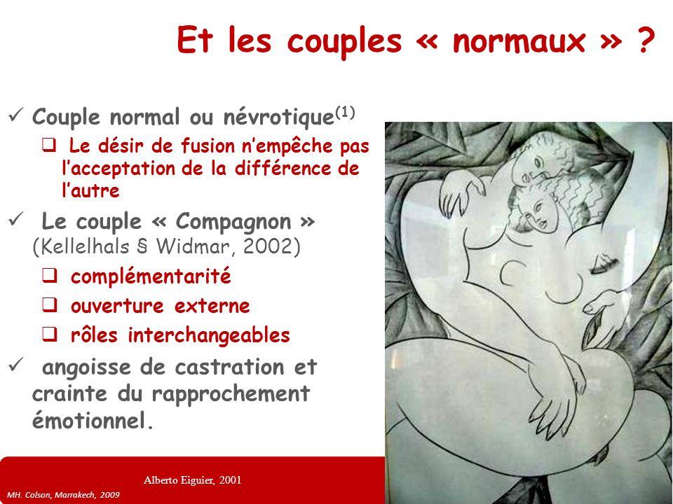Et les couples « normaux »