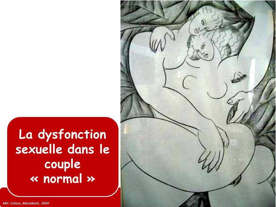 La dysfonction sexuelle dans le couple « normal »