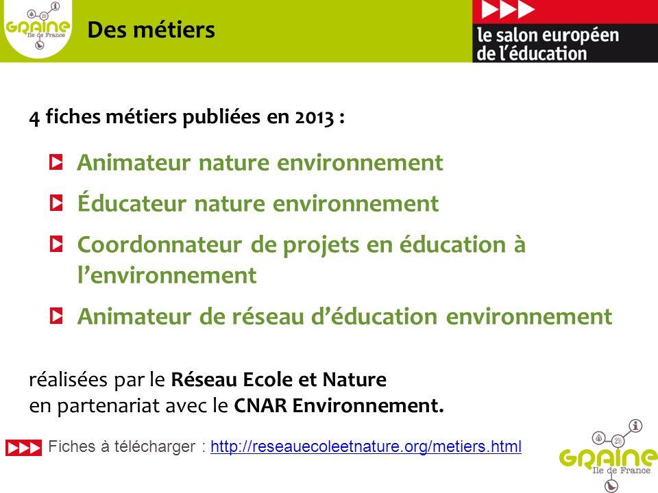 Animateur nature environnement