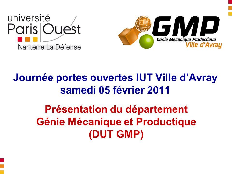 Journée portes ouvertes IUT Ville d'Avray samedi 05 février 2011