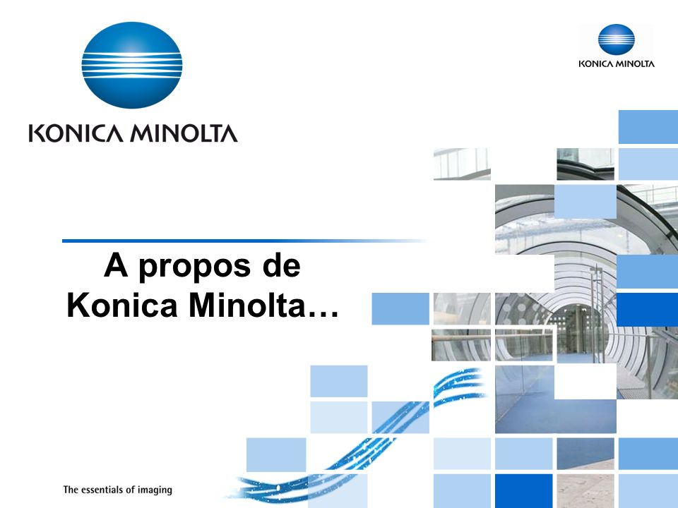 A propos de Konica Minolta…