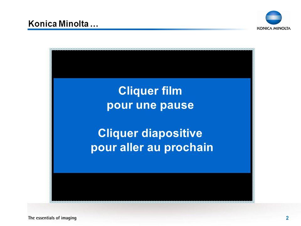 Cliquer film pour une pause Cliquer diapositive pour aller au prochain