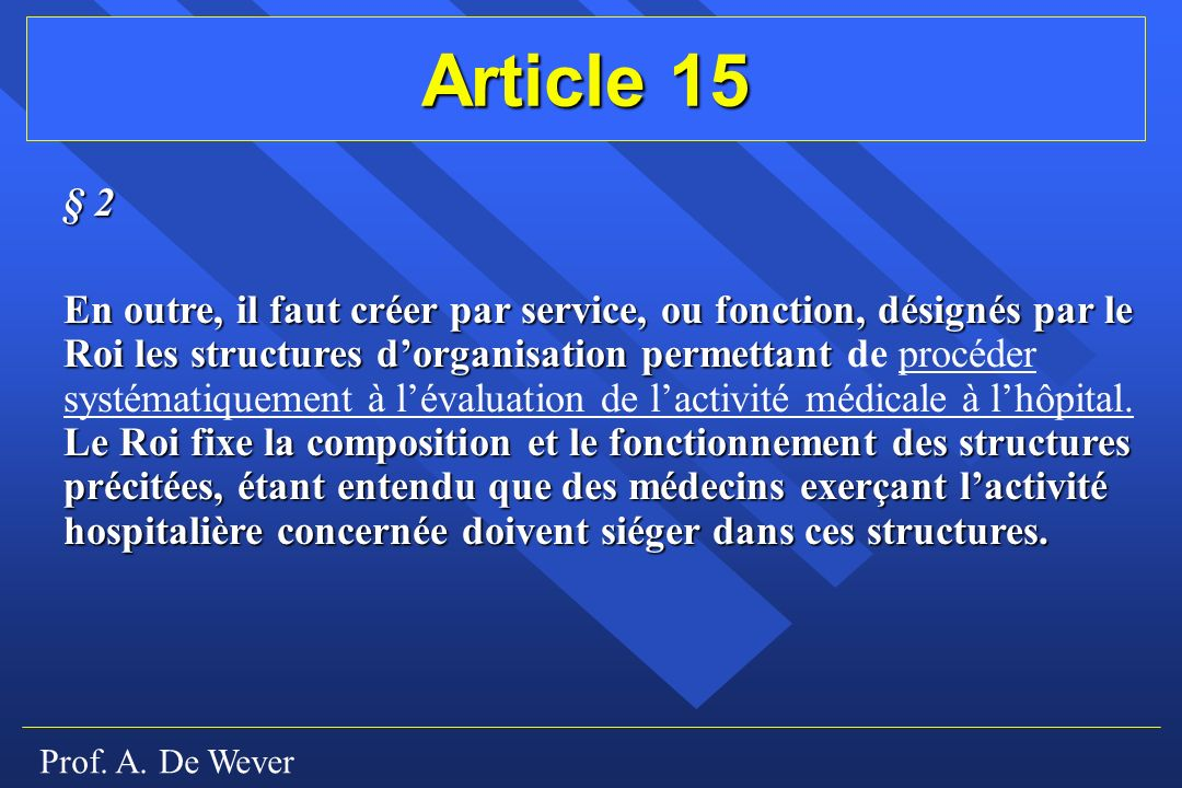 Article 15 § 2.