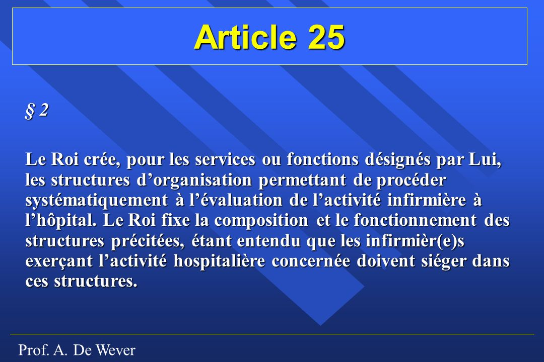 Article 25 § 2.