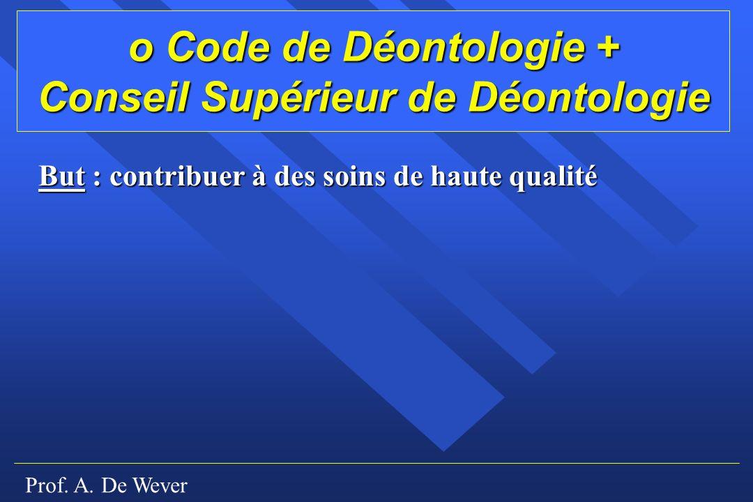 Conseil Supérieur de Déontologie