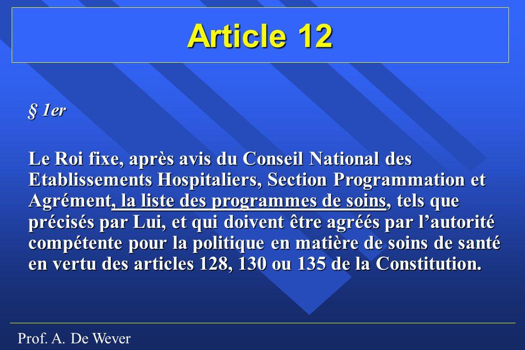 Article 12 § 1er.