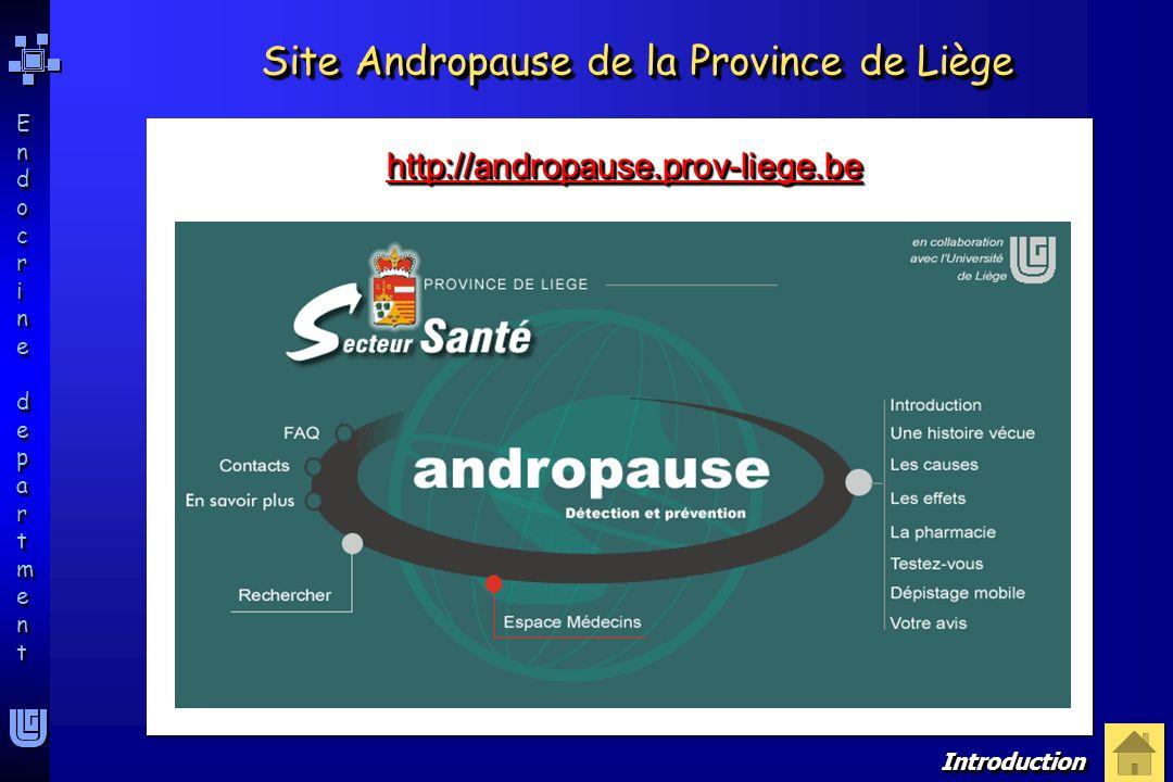 Site Andropause de la Province de Liège