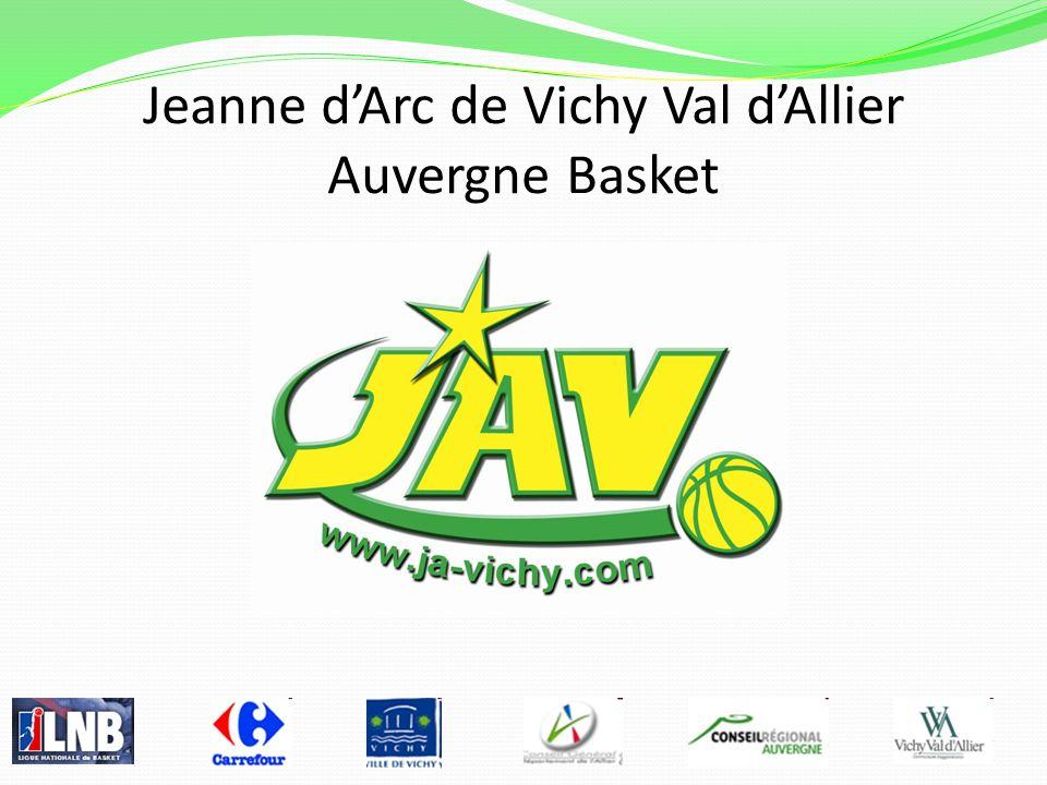Jeanne d'Arc de Vichy Val d'Allier Auvergne Basket