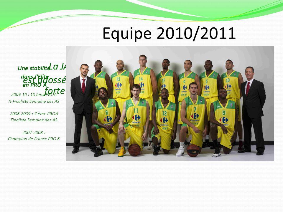 Equipe 2010/2011