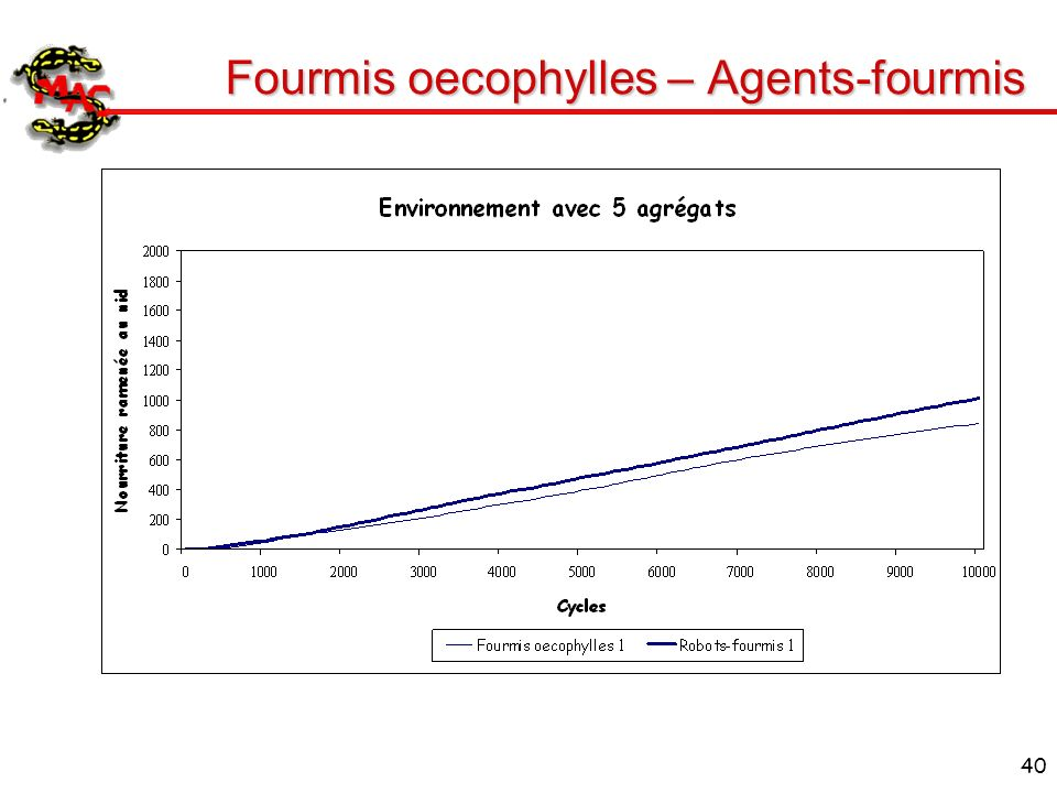 Fourmis oecophylles – Agents-fourmis