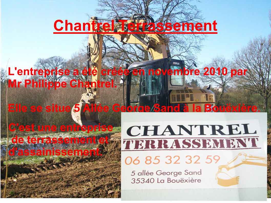 Chantrel Terrassement