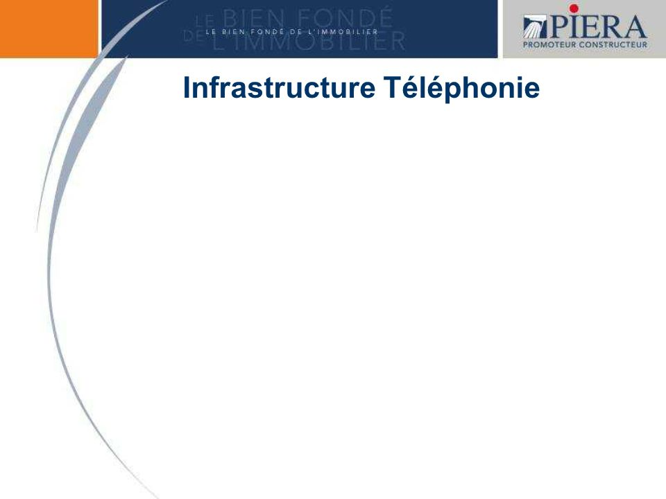 Infrastructure Téléphonie